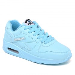 Stylish High Top and PU Leather Design Athletic Shoes for Women -