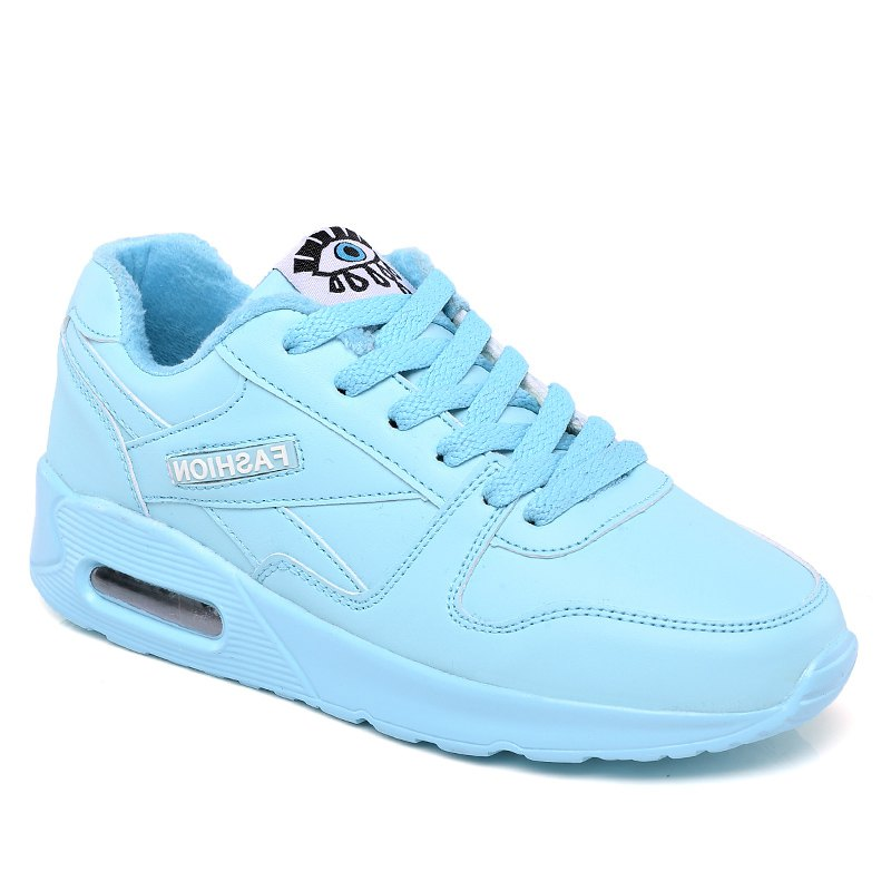 Fashion Stylish High Top and PU Leather Design Athletic Shoes for Women
