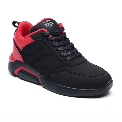 Online Men Casual Fashion Breathable Lace up Athletic Shoes
