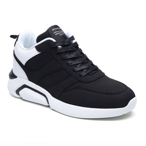 Fancy Men Casual Fashion Breathable Lace up Athletic Shoes