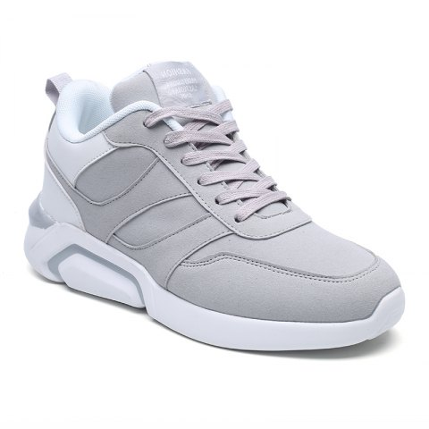 Latest Men Casual Fashion Breathable Lace up Athletic Shoes