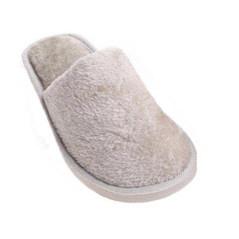 Cheap The New Home-Color Lovers Cotton Slippers
