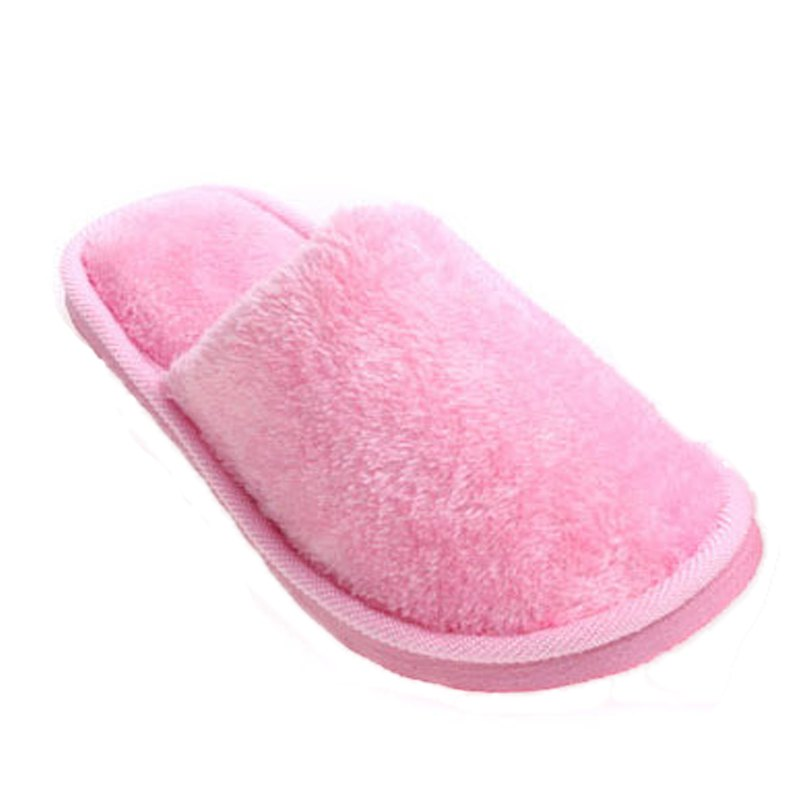 Discount The New Home-Color Lovers Cotton Slippers