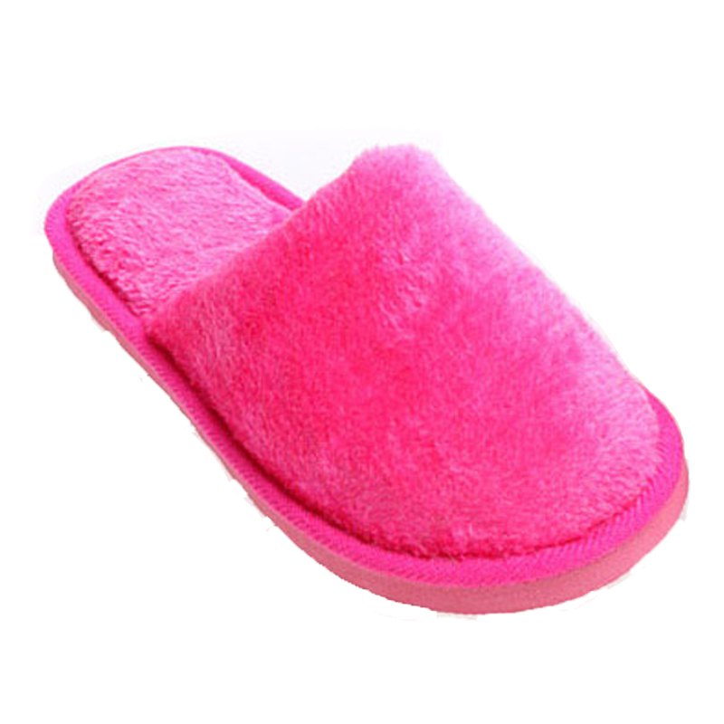 Fancy The New Home-Color Lovers Cotton Slippers