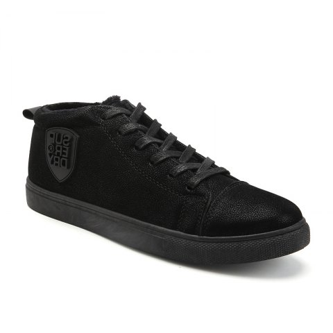 Chic Male Breathable Wearable Lace up Casual Shoes