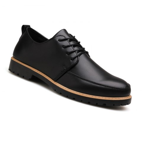 Chic New Casual Leather Shoes for Autumn