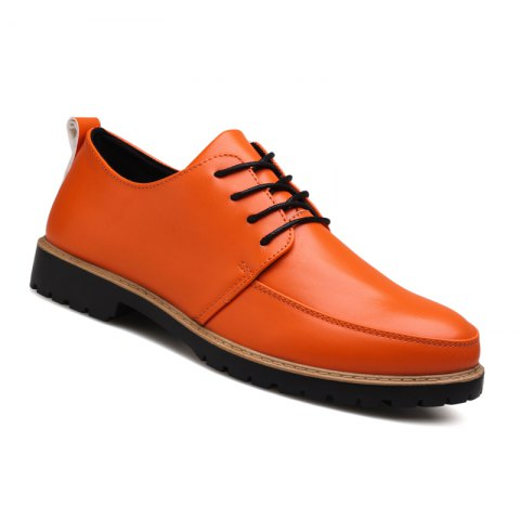 Fashion New Casual Leather Shoes for Autumn