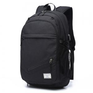 Mens Canvas Basketball Football Backpack 15 Inch Laptop Backpack -