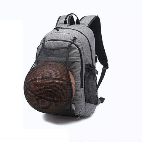 Latest Mens Canvas Basketball Football Backpack 15 Inch Laptop Backpack