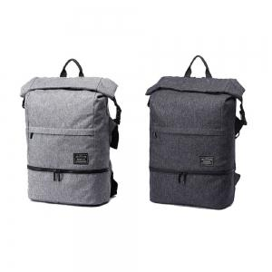 Waterproof Canvas Wet Dry Seperate Travel Bag 15 Inch Backpack -