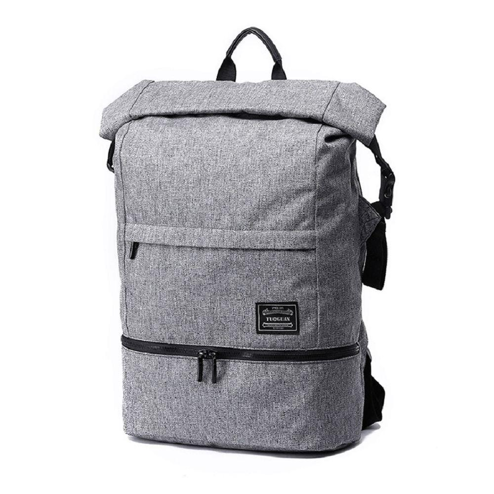 Store Waterproof Canvas Wet Dry Seperate Travel Bag 15 Inch Backpack
