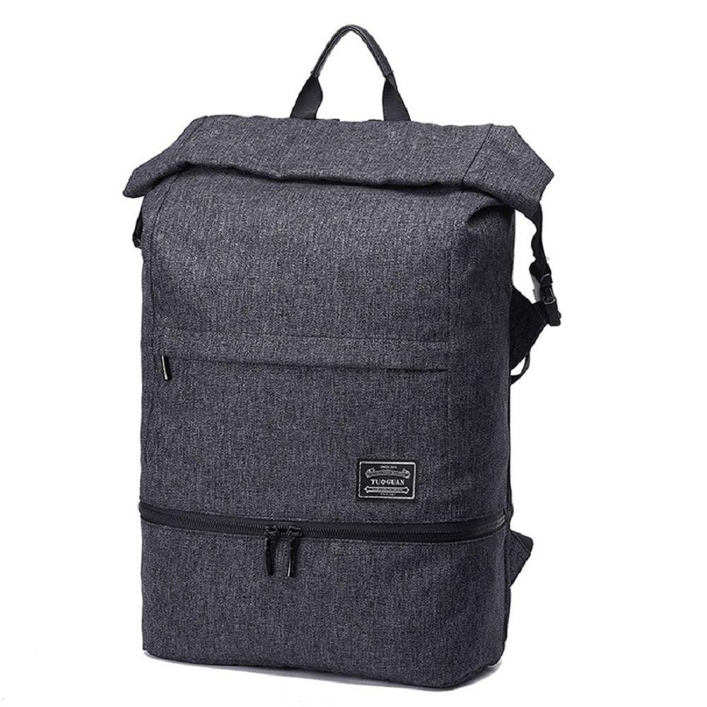 Shop Waterproof Canvas Wet Dry Seperate Travel Bag 15 Inch Backpack