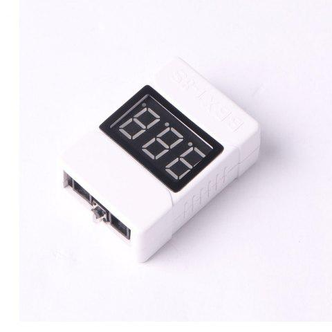 Hot Low Voltage tester Buzzer Alarm 3.6-32V LED Volt Meter Prevent Reverse connection Indicator checker