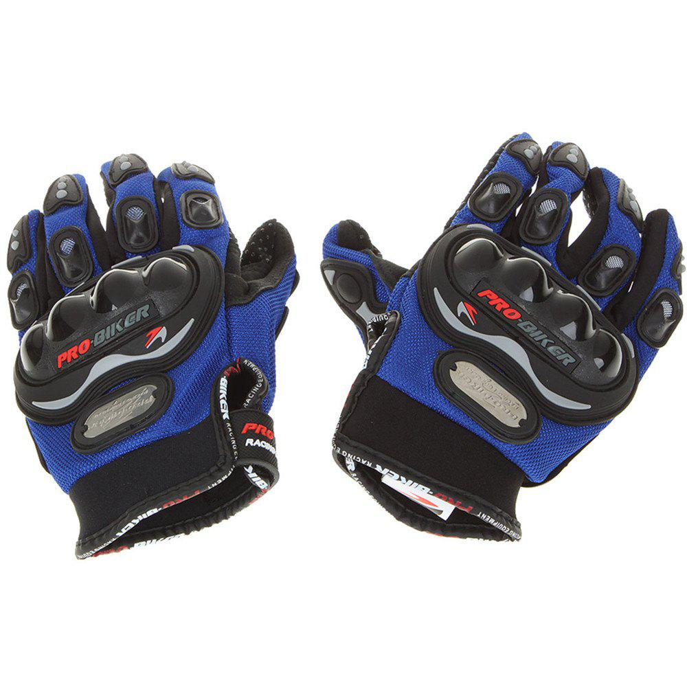 Fashion Carbon Fiber Motorcycle Motorbike Cycling Racing Full Finger Gloves