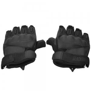 Motorbike Cycling Racing Full Finger Half Gloves -