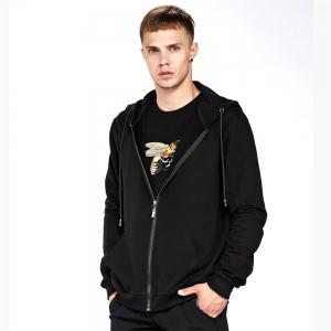 Men's Hoodie Casual Fashion Solid Color All Match Long Sleeve Hoodie -