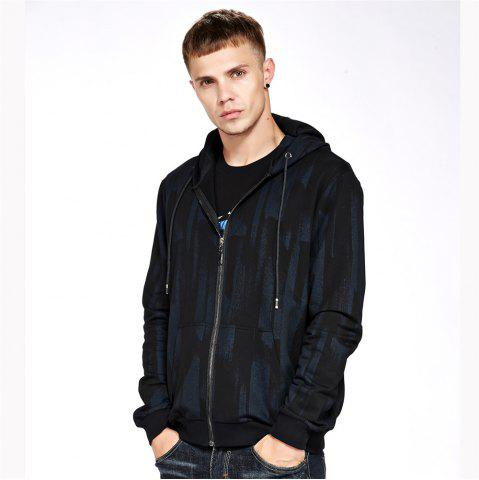 Store Men's Hoodie Casual Loose Print All Match Long Sleeve Hoodie