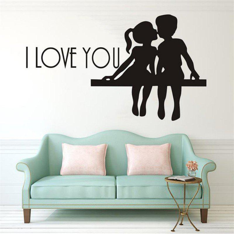 Buy DSU Hot Selling PS I Love You Vinyl Wall Quotes Stickers Sayings Home Art Decal