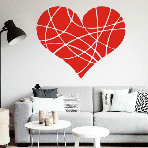 Affordable DSU Geometric Heart DIY Wall Sticker For Home Decor Minimalism Nordic Style Creative Romantic Living Rooms Poster Wall Paintings