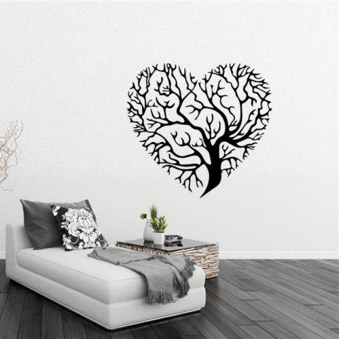 Hot DSU 3D Wallpaper Love Tree Creative Wall Stickers Living Room Bedroom TV Background Decorative Waterproof Mura