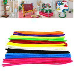 100PCS Wool Top Twist Wire Children Educational Toys DIY Craft Materials Handmade Art -