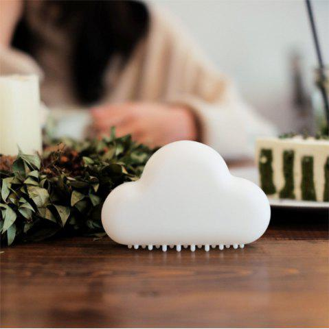 Outfit Mini USB Charging Cloud Night Lamp Intelligent Voice Control Sensing LED White
