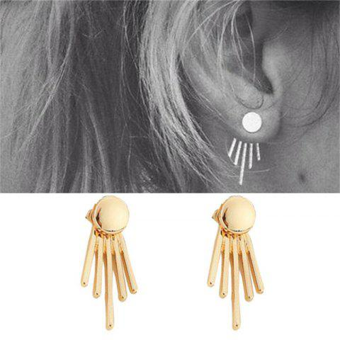 Store All-match Fashion Elegant Lady Personality Metal Earrings