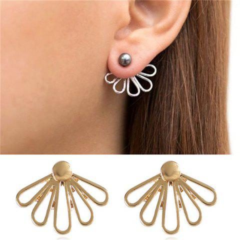 Fancy Delicate and Fashionable Lady's Lotus Petal Shaped Ear Nail