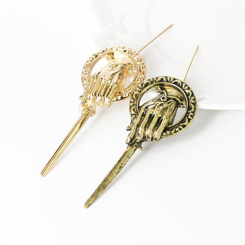 Fashion New Fashion Retro King's Scepter Male and Female Brooches