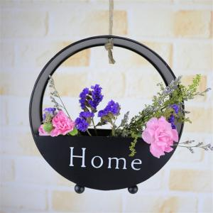 Wall decoration of round type iron hanging wall -