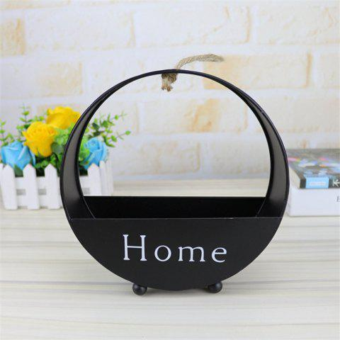 Online Wall decoration of round type iron hanging wall