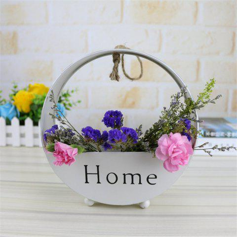 Affordable Wall decoration of round type iron hanging wall
