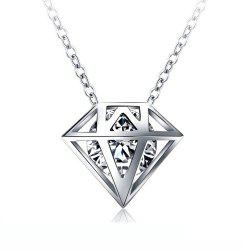 Women's Necklace Personality Geometric Pendant Short Necklet -