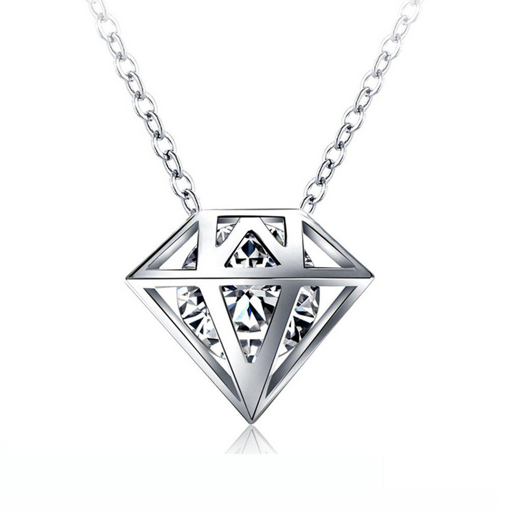 Hot Women's Necklace Personality Geometric Pendant Short Necklet