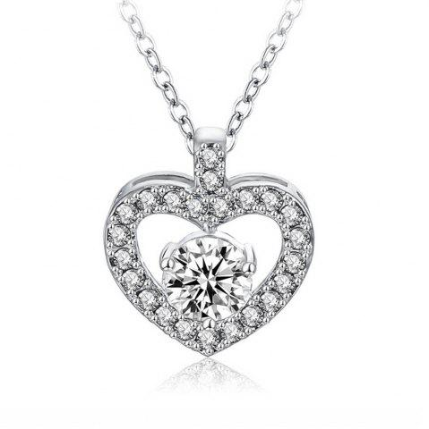 Best Women's Necklace Hollow Out Heart Shaped Neckle