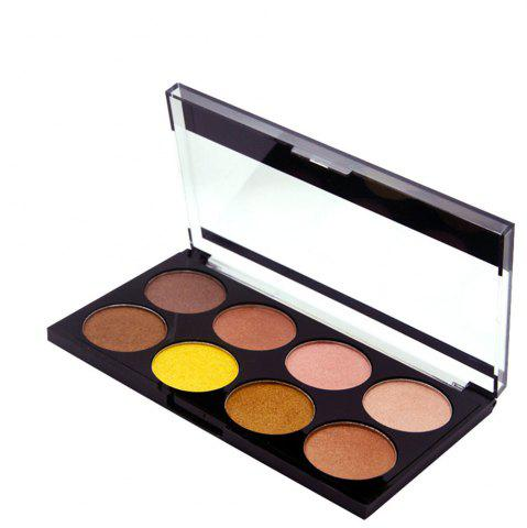 Latest ZD F2086 8 Colors Eye Shadow Palette Shimmer Colorful Eye Makeup 1PC