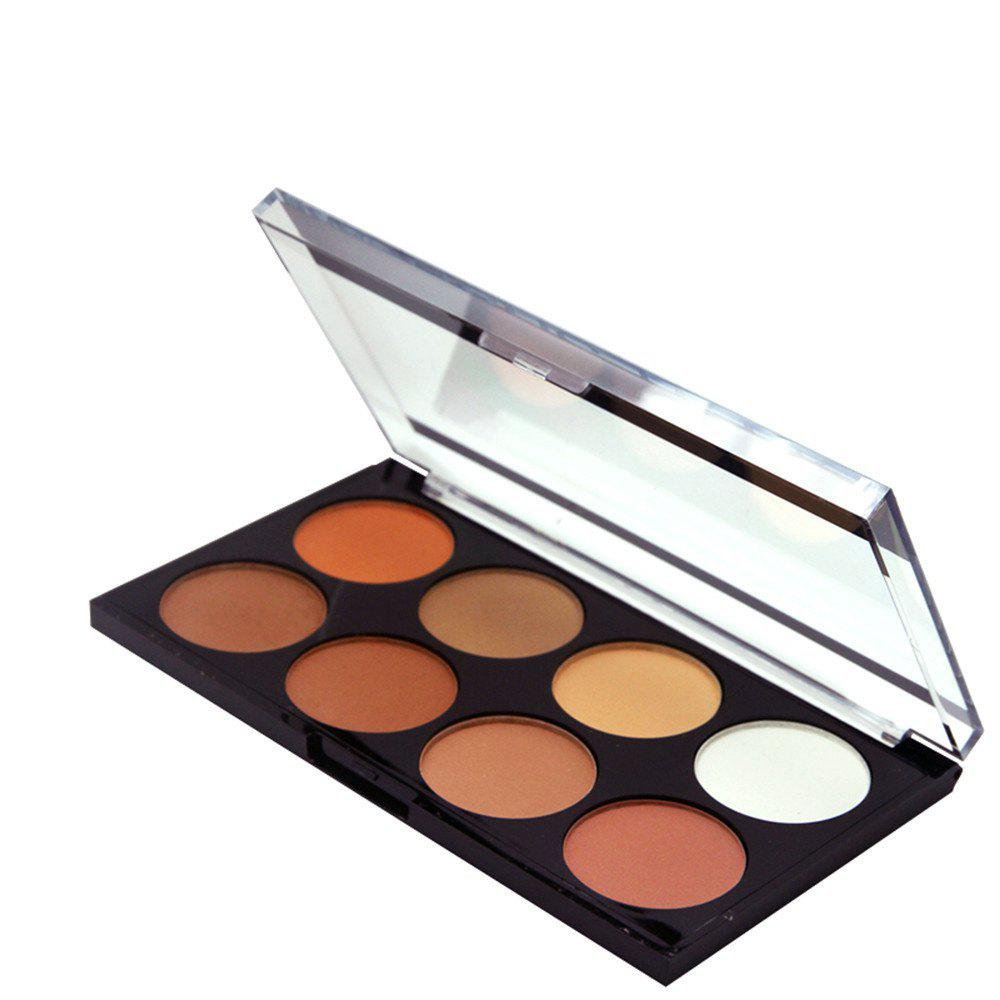 Cheap ZD F2086 8 Colors Eye Shadow Palette Shimmer Colorful Eye Makeup 1PC