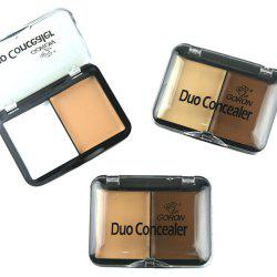 GORON F2016 2 Colors Concealer Palette Face Makeup 3pcs -