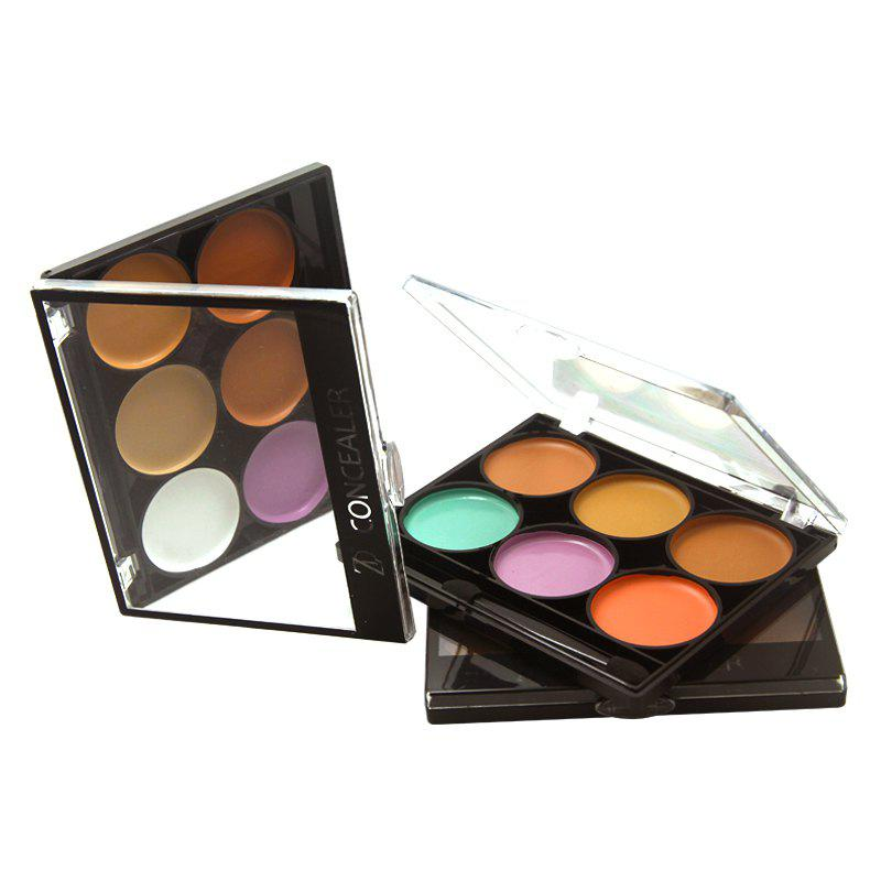 Outfits ZD F2024 6 Colors Concealer Face Makeup 3pcs