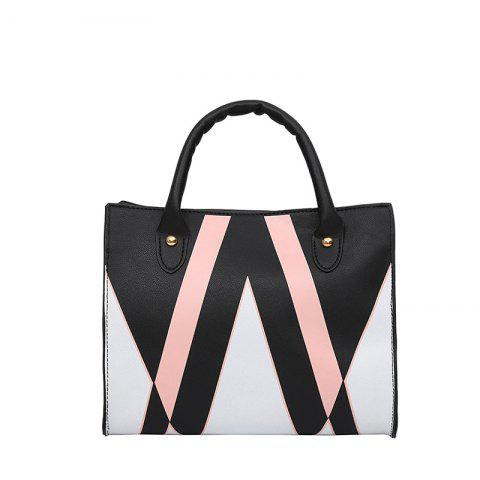 Outfits The Triangle Print Killer Woman Hits The Female Bag