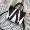 The Triangle Print Killer Woman Hits The Female Bag -