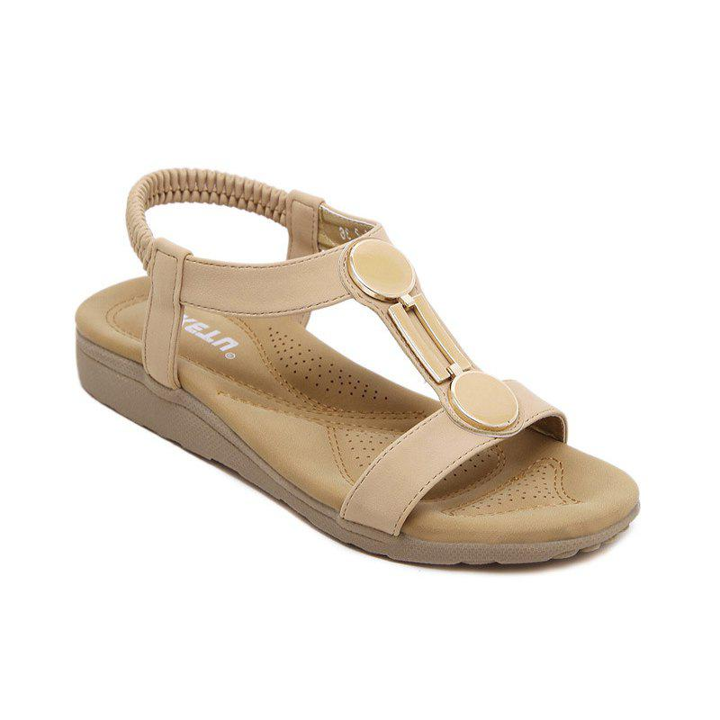 7d0113401 Shop Ladies Rubber Sole Sandals with Flat Shoes Foreign Trade Size Beach  Shoes