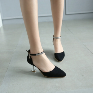 Miss Shoes 559 Pointed Glasses and Fashionable Single Shoes -