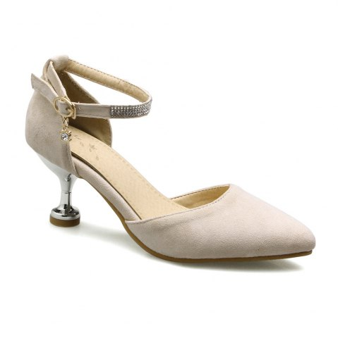 Affordable Miss Shoes 559 Pointed Glasses and Fashionable Single Shoes
