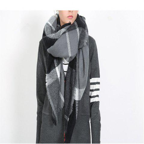 Fancy Double pane printing imitation cashmere scarf shawl scarves thickened