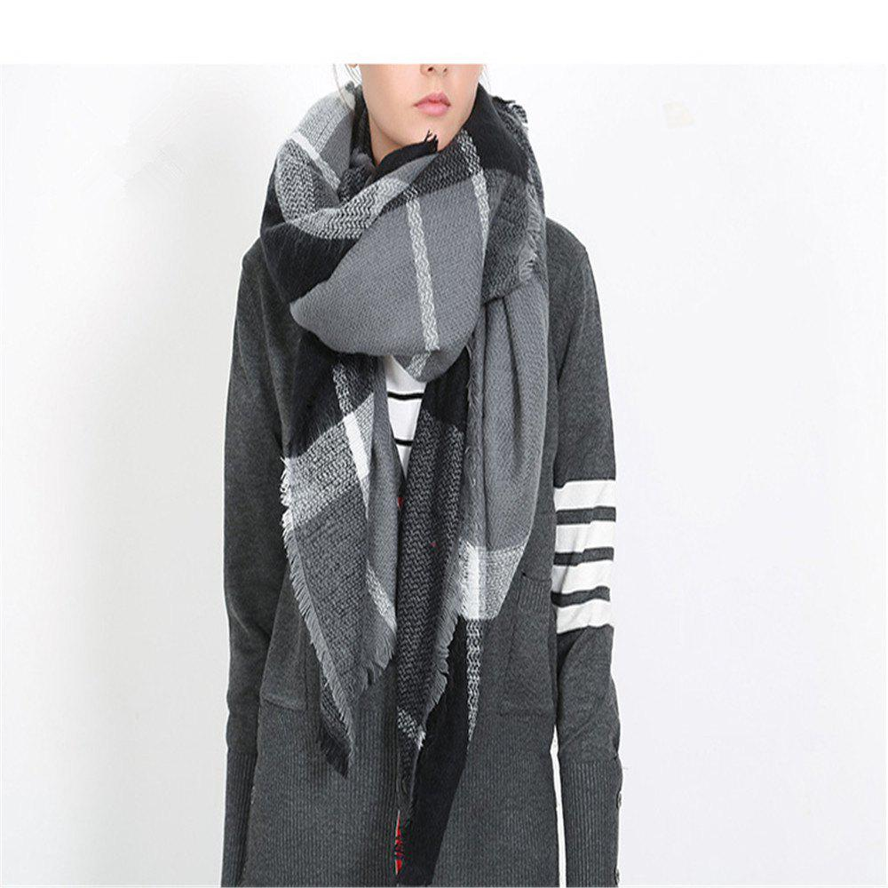 Fancy Salybaby Double Pane Printing Imitation Cashmere Scarf Shawl Scarves Thickened