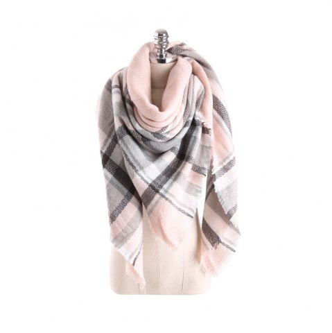 Cheap Salybaby Lattice Stitching Multicolor Color Imitation Cashmere Scarf