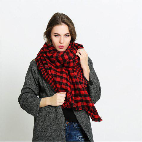 Fashion Salybaby Double Face Imitation Cashmere Scarf for Warm Scarf