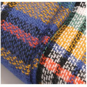 The new color imitation cashmere scarf Plaid Scarf -