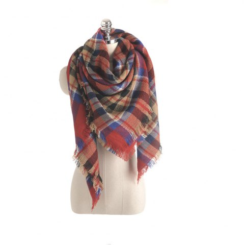 Unique Salybaby New Color Imitation Cashmere Scarf Plaid Scarf